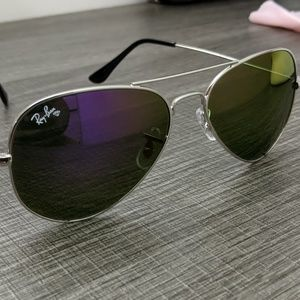 Ray-ban green/purple Polarized AVIATOR
